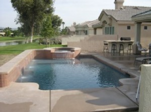 Palm Springs Villa in Gated Golf Community
